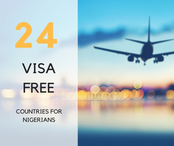24 visa free countries for Nigerians, the visiting nomad